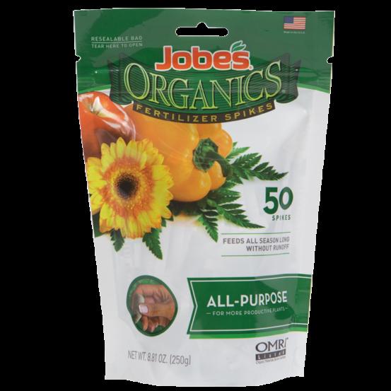 Jobe's Organics Fertilizer Spike All Purpose   Jobe's Company