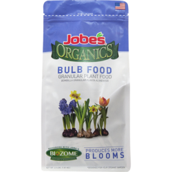 4 pound bag of Jobe's Organics granular bulb food