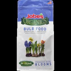 4 pound bag of Jobe's Organics granular bulb food