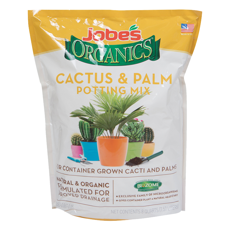 Jobe's Organics Cactus & Palm Potting Mix