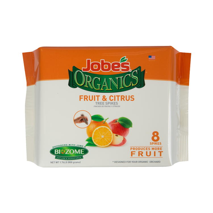 Jobe S Organics Fruit Citrus Tree Spikes