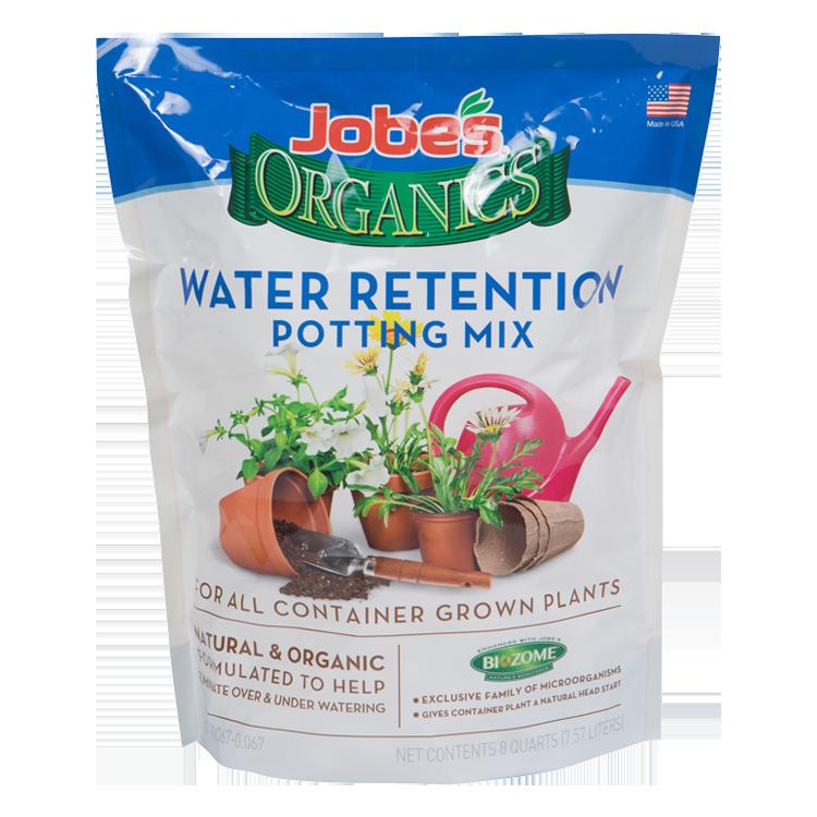 Jobe's Organics Water Retaining Potting Mix