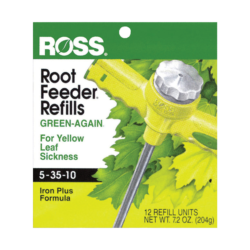 Ross Root Feeder Refills Green Again with Iron