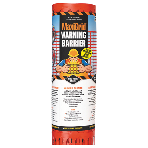 Learn More · Easy Gardener Maxigrid Economy Warning Barrier