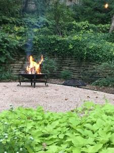 A Fire Pit Garden