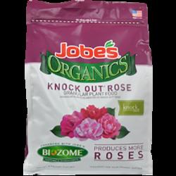8 pound bag of Jobe's Organics knock out rose granular plant food